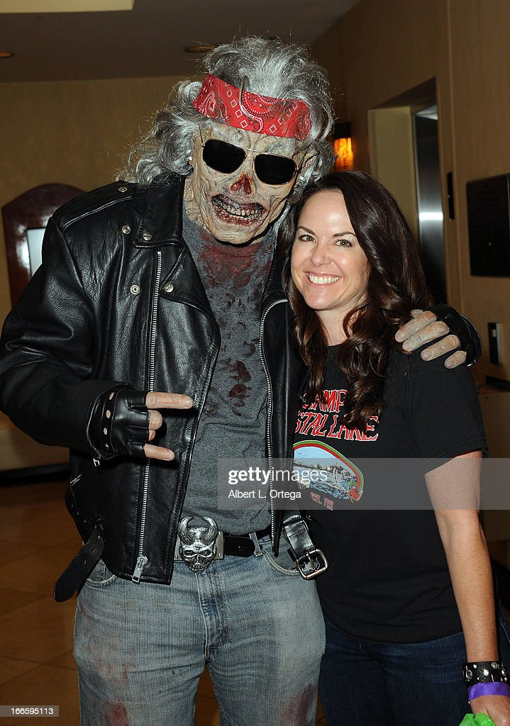 Actress Lisa Cash attends 2013 Monsterpalooza held at The Burbank Marriott Hotel & Convention Center on April 13, 2013 in Burbank, California.