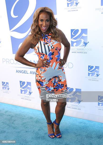 Actress Lisa Deveaux arrives for Project Angel Food Celebrates 25 Years With 2014 Angel Awards at Project Angel Food on September 6 2014 in Los...