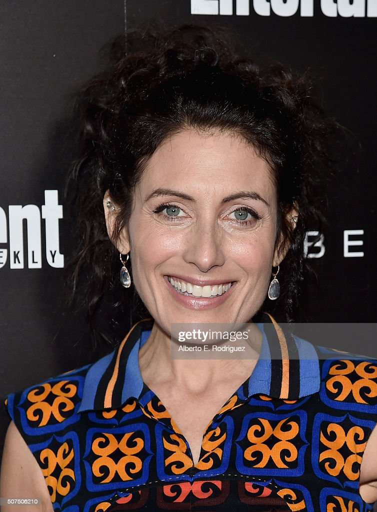 Actress Lisa Edelstein attends Entertainment Weekly's celebration honoring THe Screen Actors Guild presented by Maybeline at Chateau Marmont on...