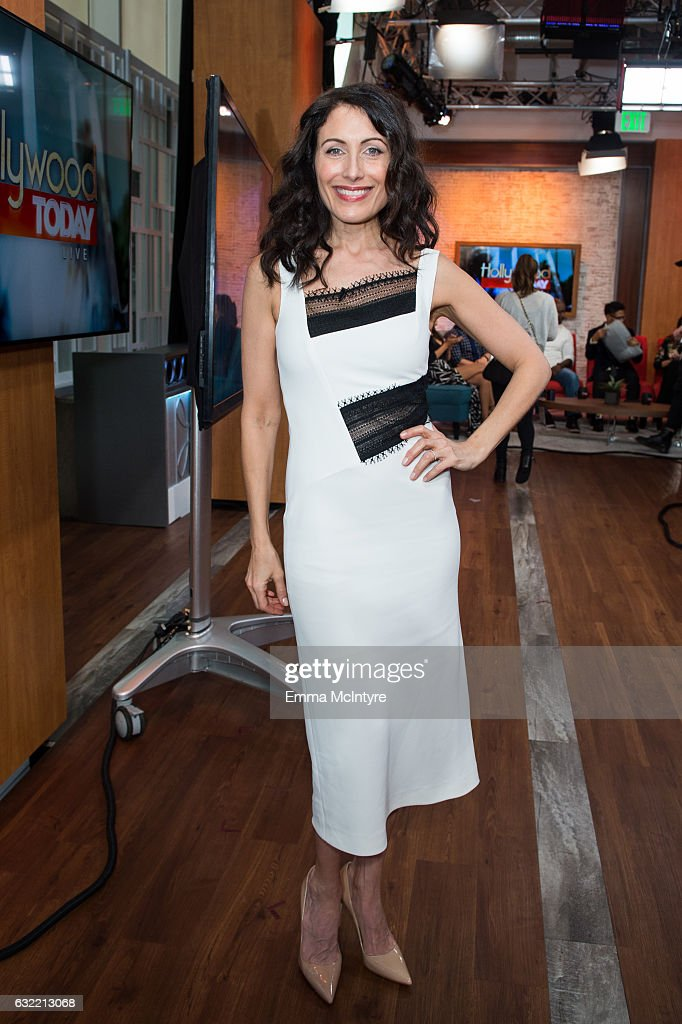 Actress Lisa Edelstein attends 'Lisa Edelstein and D.B. Woodside visit Hollywood Today Live' at W Hollywood on January 20, 2017 in Hollywood, California.