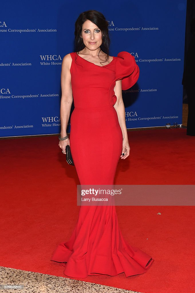 Actress Lisa Edelstein attends the 102nd White House Correspondents' Association Dinner on April 30, 2016 in Washington, DC.