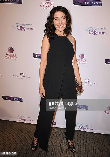 Actress Lisa Edelstein attends the 10th annual Global Women's Rights Awards at Pacific Design Center on May 18 2015 in West Hollywood California