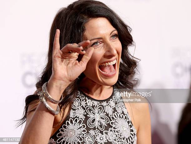 Actress Lisa Edelstein attends The 41st Annual People's Choice Awards at Nokia Theatre LA Live on January 7 2015 in Los Angeles California