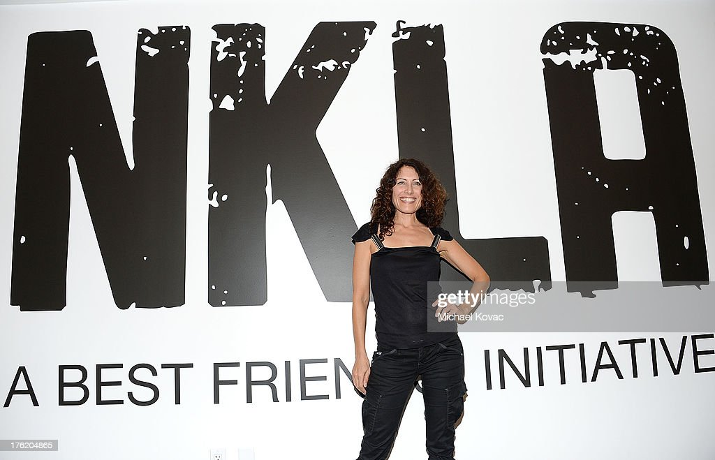 Actress <a gi-track='captionPersonalityLinkClicked' href=/galleries/search?phrase=Lisa+Edelstein&family=editorial&specificpeople=216555 ng-click='$event.stopPropagation()'>Lisa Edelstein</a> attends the NKLA Pet Adoption Center Opening Celebration at the NKLA Pet Adoption Center on August 11, 2013 in Los Angeles, California.