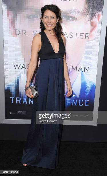 Actress Lisa Edelstein attends the premiere of 'Transcendence' at Regency Village Theatre on April 10 2014 in Westwood California
