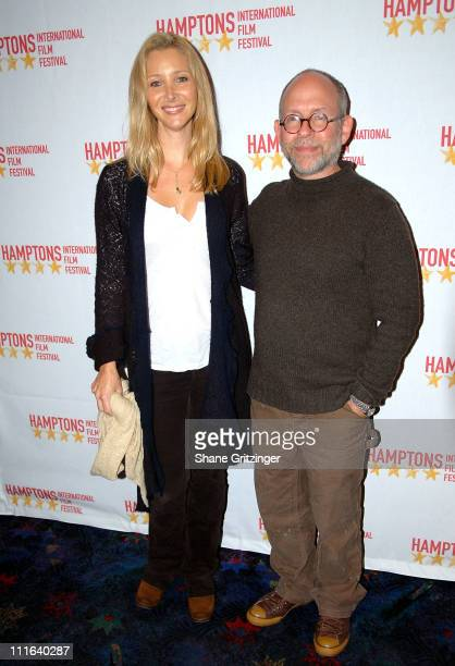 Actress Lisa Kudrow and Actor Bob Balaban Arrive to the 'Bernard and Doris' Premiere at The Hamptons Film Festival On October 17 2007 in East Hampton...