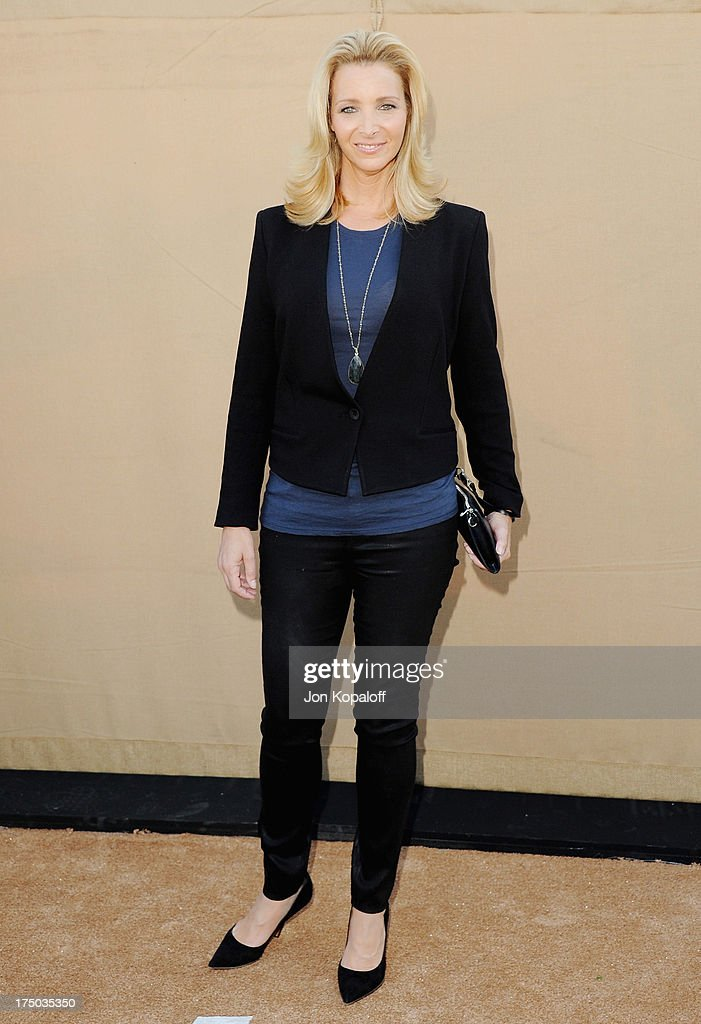 Actress <a gi-track='captionPersonalityLinkClicked' href=/galleries/search?phrase=Lisa+Kudrow&family=editorial&specificpeople=202079 ng-click='$event.stopPropagation()'>Lisa Kudrow</a> arrives at the 2013 Television Critic Association's Summer Press Tour - CBS, The CW, Showtime Party at The Beverly Hilton Hotel on July 29, 2013 in Beverly Hills, California.
