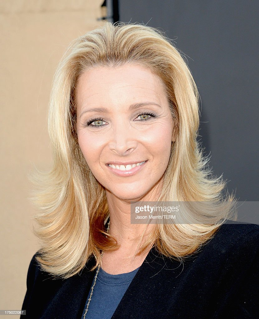 Actress <a gi-track='captionPersonalityLinkClicked' href=/galleries/search?phrase=Lisa+Kudrow&family=editorial&specificpeople=202079 ng-click='$event.stopPropagation()'>Lisa Kudrow</a> arrives at the CW, CBS and Showtime 2013 summer TCA party on July 29, 2013 in Los Angeles, California.