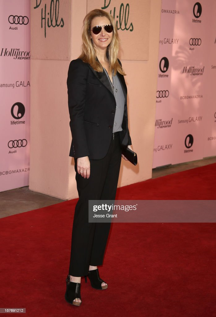 Actress Lisa Kudrow arrives at the Hollywood Reporter's 21st annual women in entertainment breakfast at The Beverly Hills Hotel on December 5, 2012 in Beverly Hills, California.