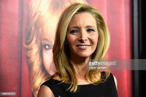 Actress Lisa Kudrow arrives at the premiere of HBO's 'The Comeback' at the El Capitan Theatre on November 5 2014 in Hollywood California