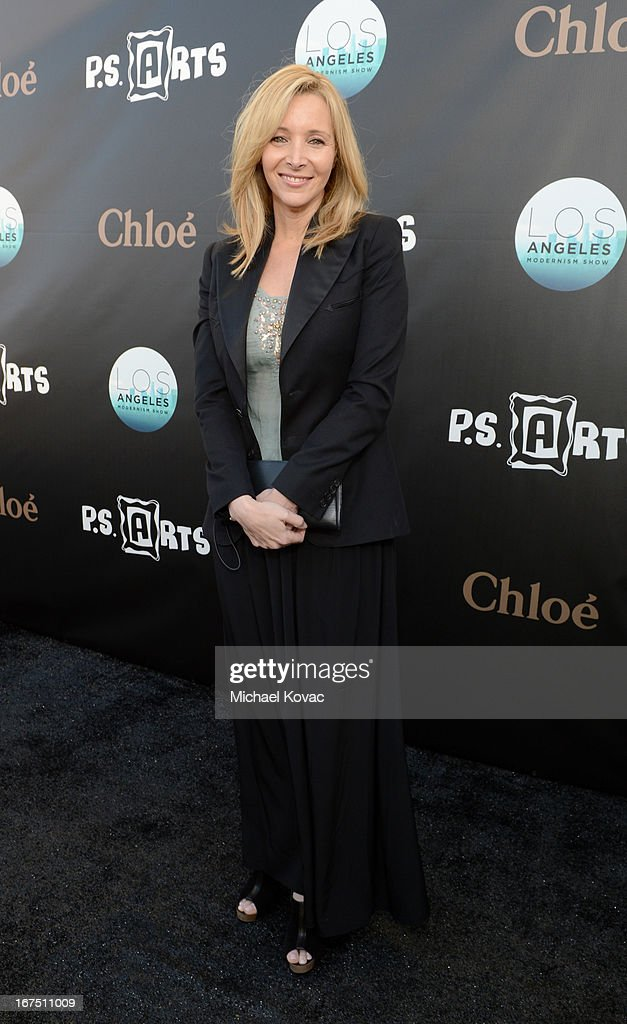 Actress Lisa Kudrow attends P.S. ARTS Presents: LA Modernism Show Opening Night at The Barker Hanger on April 25, 2013 in Santa Monica, California.