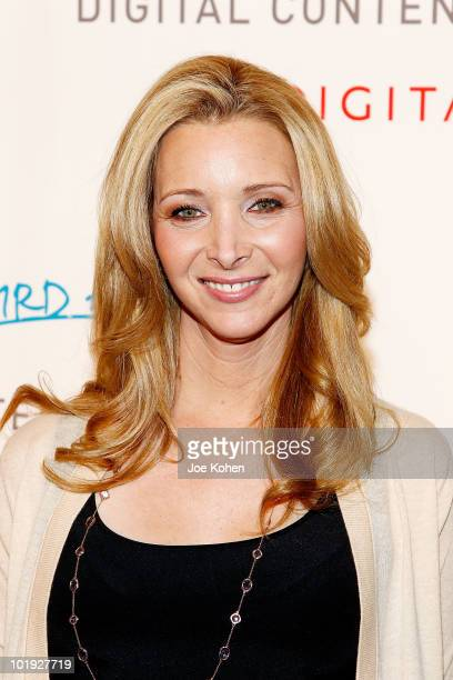 Actress Lisa Kudrow attends the 2010 Digitas The Third Act Digital Content NewFront Conference at Skylight Studio on June 9 2010 in New York City