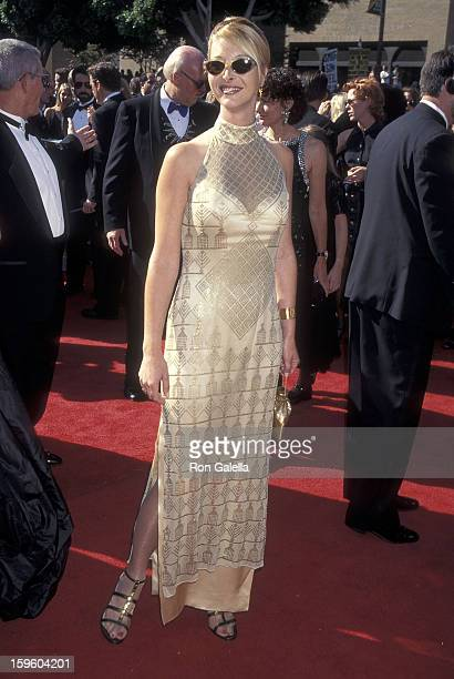 Actress Lisa Kudrow attends the 47th Annual Primetime Emmy Awards on September 9 1995 at the Pasadena Civic Auditorium in Pasadena California
