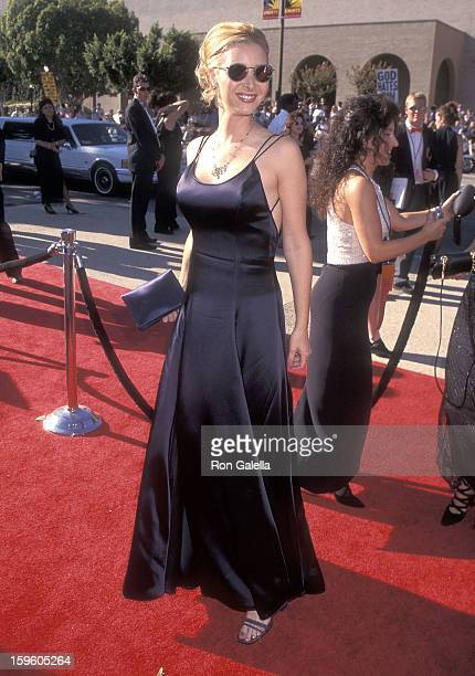 Actress Lisa Kudrow attends the 48th Annual Primetime Emmy Awards on September 8 1996 at the Pasadena Civic Auditorium in Pasadena California