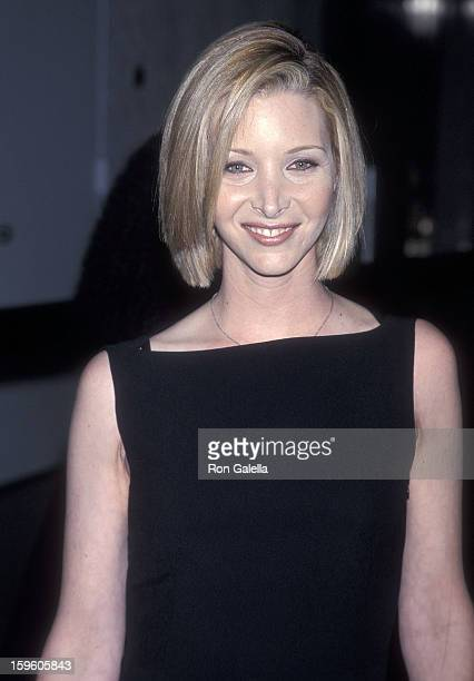 Actress Lisa Kudrow attends the 64th Annual New York Film Critics Circle Awards on January 10 1999 at the Windows on the World World Trade Center in...