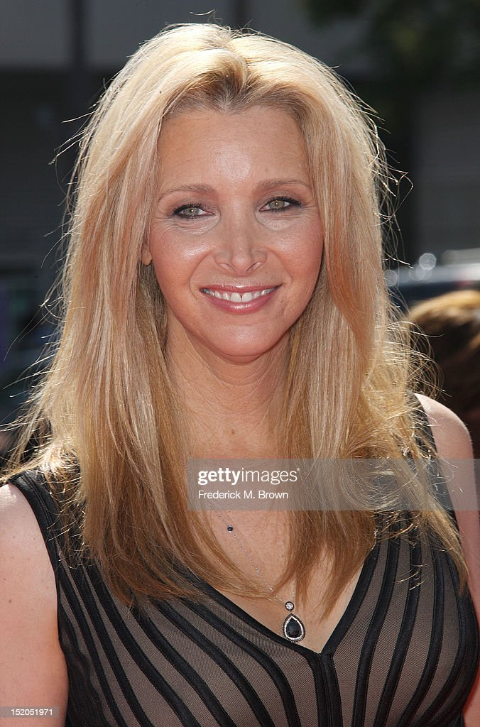 Actress Lisa Kudrow attends The Academy Of Television Arts & Sciences 2012 Creative Arts Emmy Awards at the Nokia Theatre L.A. Live on September 15, 2012 in Los Angeles, California.