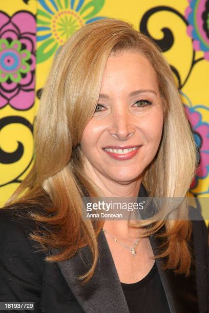 Actress Lisa Kudrow attends the Family Equality Council LA Awards Dinner at The Globe Theatre at Universal Studios on February 9 2013 in Universal...
