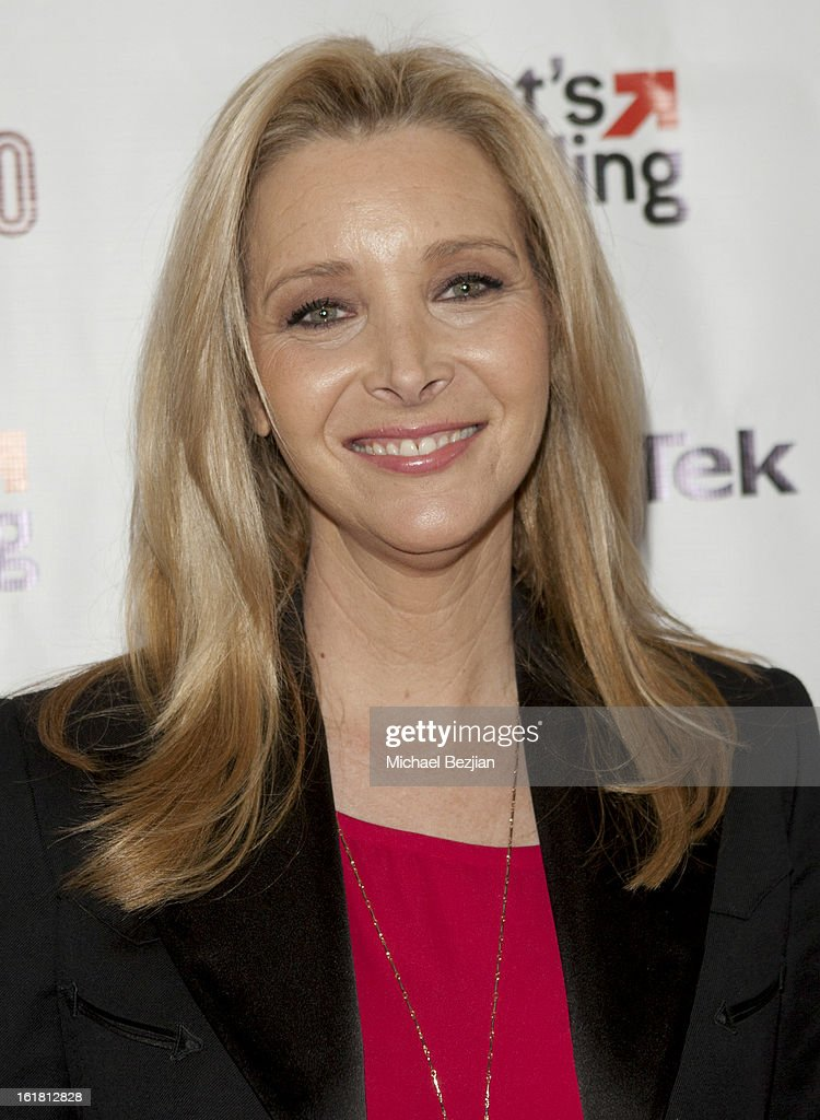 Actress Lisa Kudrow attends The Future Of Online Television at What's Trending Studios on February 15, 2013 in Los Angeles, California.