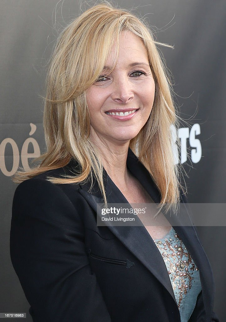 Actress Lisa Kudrow attends the Los Angeles Modernism Show & Sale at Barker Hangar on April 25, 2013 in Santa Monica, California.