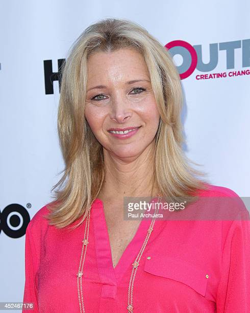 Actress Lisa Kudrow attends the Outfest panel discussion of 'It Got Better' at The DGA Theater on July 20 2014 in Los Angeles California