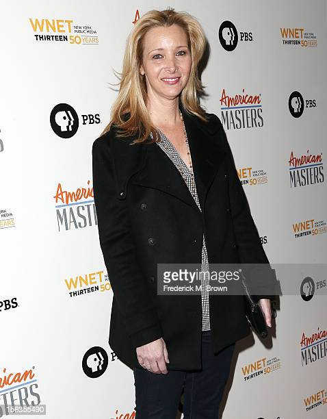 Actress Lisa Kudrow attends the Premiere Of 'American Masters Inventing David Geffen' at The Writers Guild of America on November 13 2012 in Beverly...