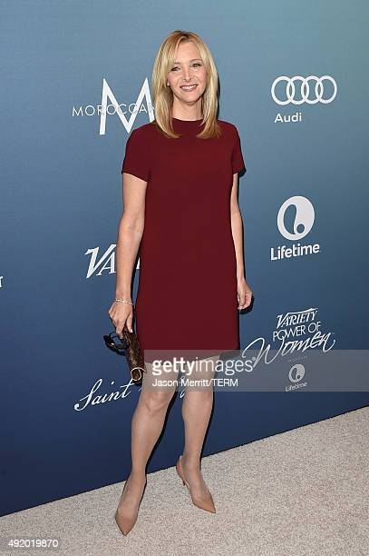 Actress Lisa Kudrow attends Variety's Power Of Women Luncheon at the Beverly Wilshire Four Seasons Hotel on October 9 2015 in Beverly Hills California