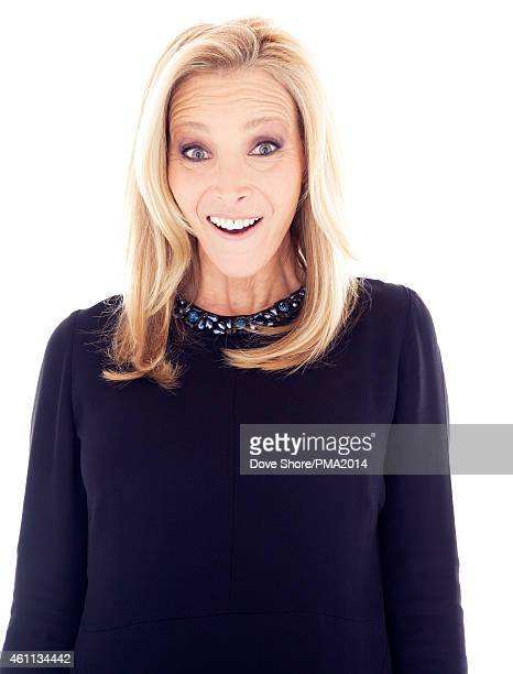 Actress Lisa Kudrow is photographed at the 2014 People Magazine Awards portrait studio on December 18 2014 in Los Angeles California