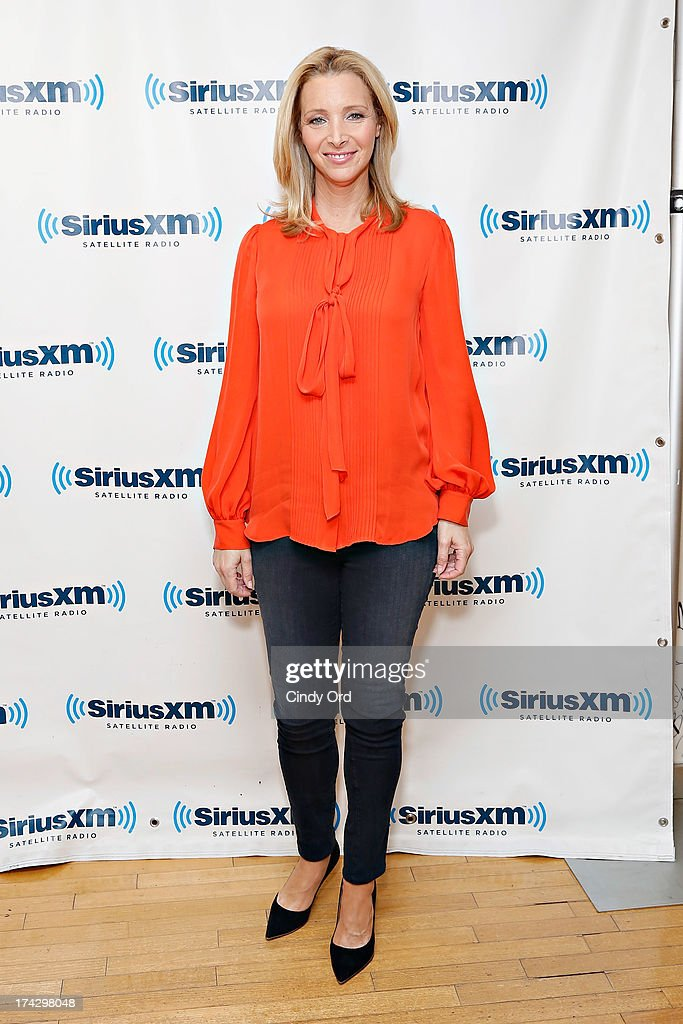 Actress <a gi-track='captionPersonalityLinkClicked' href=/galleries/search?phrase=Lisa+Kudrow&family=editorial&specificpeople=202079 ng-click='$event.stopPropagation()'>Lisa Kudrow</a> visits the SiriusXM Studios on July 23, 2013 in New York City.