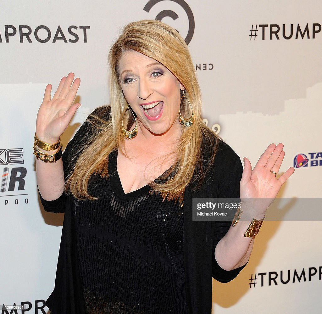 Lisa Lampanelli attends the Comedy Central Roast Of Donald Trump ...