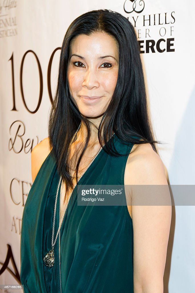 Actress Lisa Ling attends the Beverly Hills Chamber of Commerce hosting