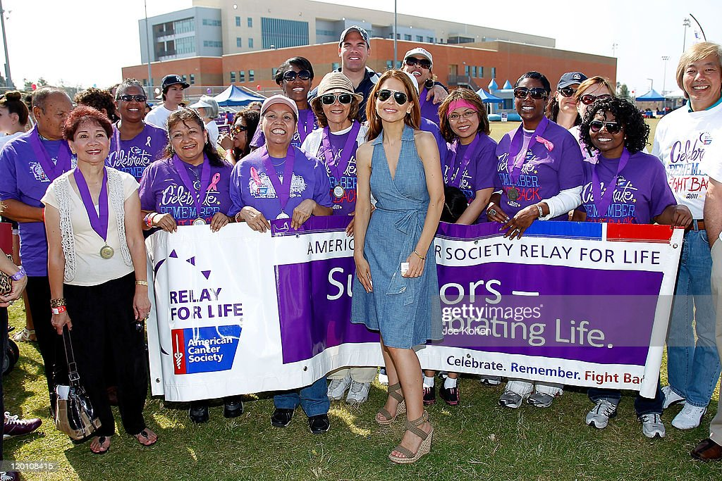 Actress Lisa LoCicero attends American Cancer Society's 2nd Annual Relay For Life Of Hollywood on July 30, 2011 in Hollywood, California.