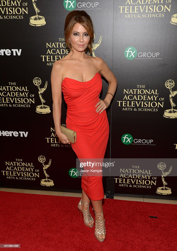 Actress Lisa LoCicero attends The 41st Annual Daytime Emmy Awards at The Beverly Hilton Hotel on June 22, 2014 in Beverly Hills, California.