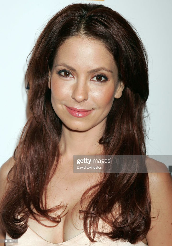 Actress Lisa LoCicero attends the 'Soaps In The City' fundraiser at the East West Lounge on October 16, 2008 in West Hollywood, California.