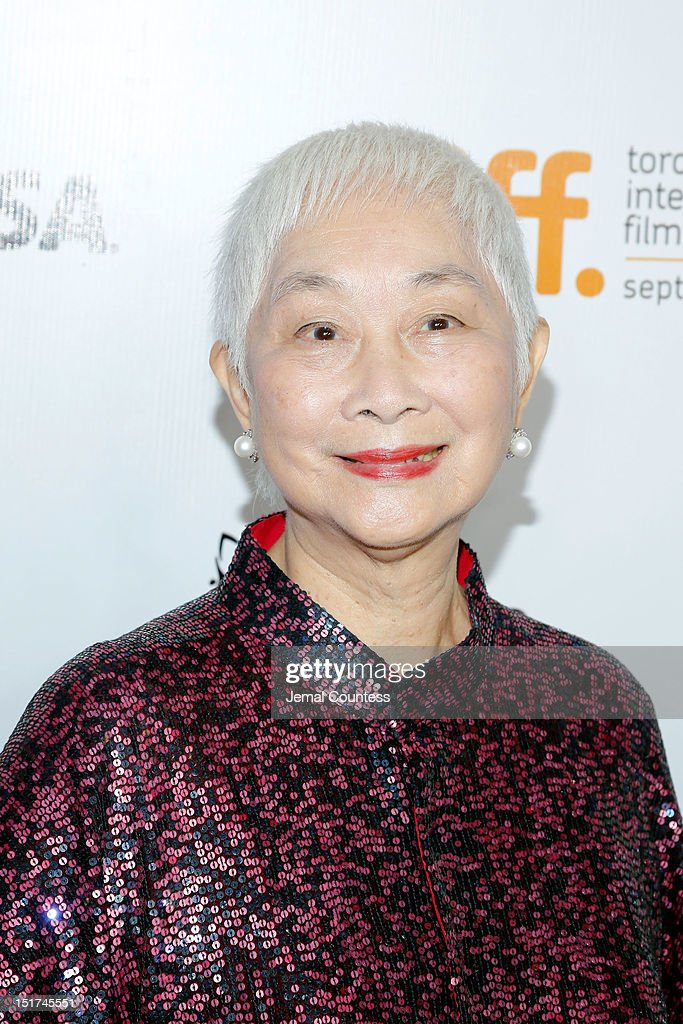Actress Lisa Lu arrives at the 'Dangerous Liaisons' Premiere during the 2012 Toronto International Film Festival at Roy Thomson Hall on September 10, 2012 in Toronto, Canada.