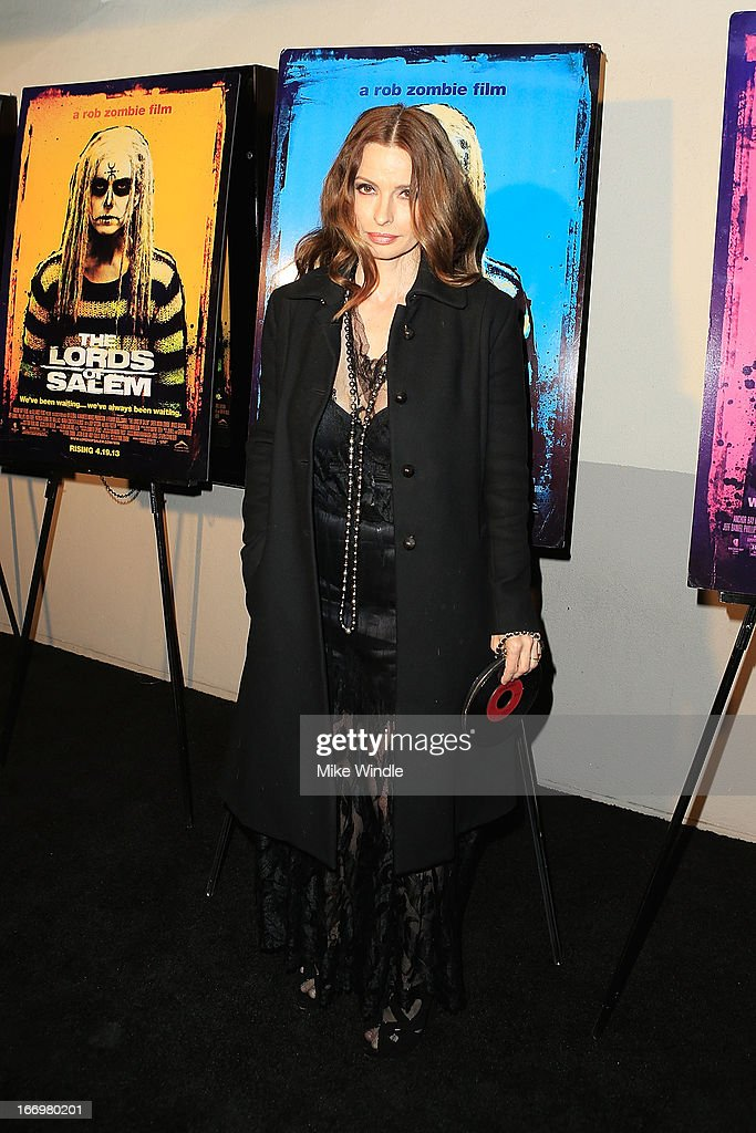 Actress Lisa Marie arrives at Rob Zombie's 'The Lords Of Salem' Los Angeles premiere at AMC Burbank 16 on April 18, 2013 in Burbank, California.
