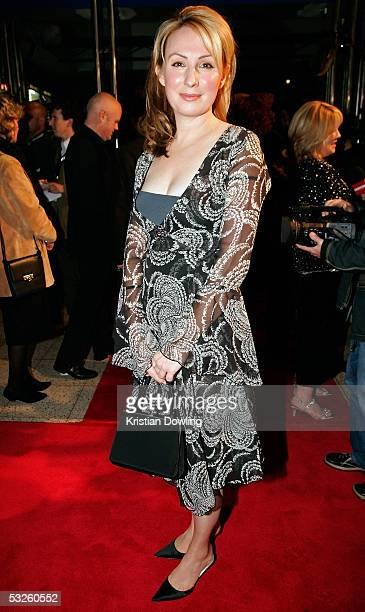 Actress Lisa McCune walks the red carpet at the World Premiere of Little Fish as part of the opening of the Melbourne International Film Festival at...