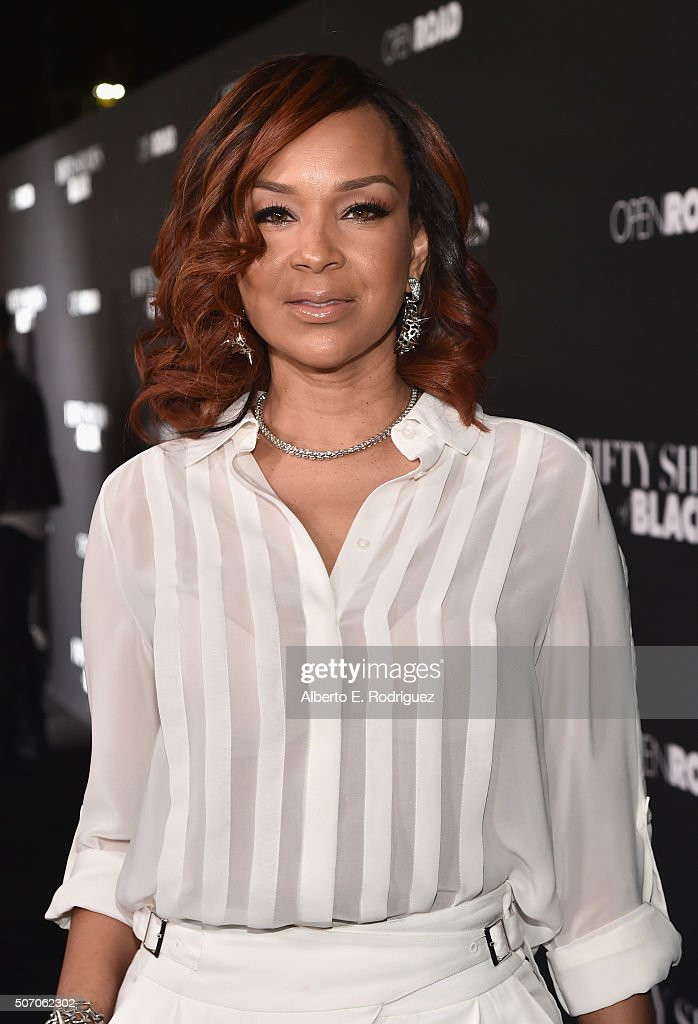 Actress Lisa Raye McCoy attends the premiere of Open Road Films' 'Fifty Shades of Black' at Regal Cinemas L.A. Live on January 26, 2016 in Los Angeles, California.