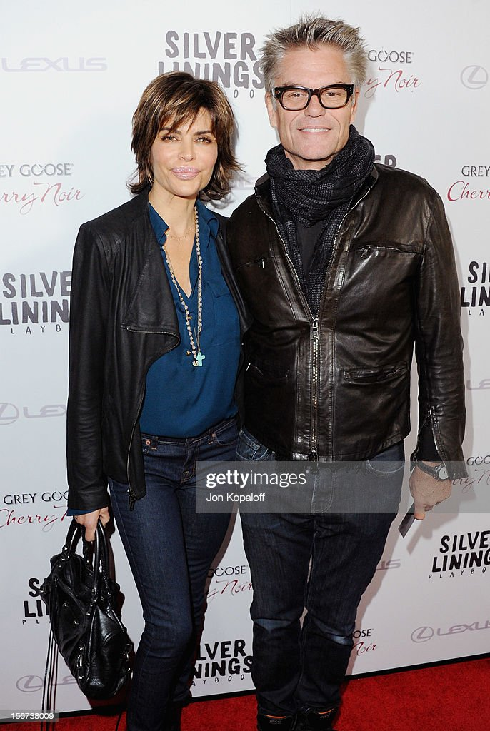 Actress Lisa Rinna and actor Harry Hamlin arrive at the Los Angeles Premiere 'Silver Linings Playbook' at the Academy of Motion Picture Arts and Sciences on November 19, 2012 in Beverly Hills, California.