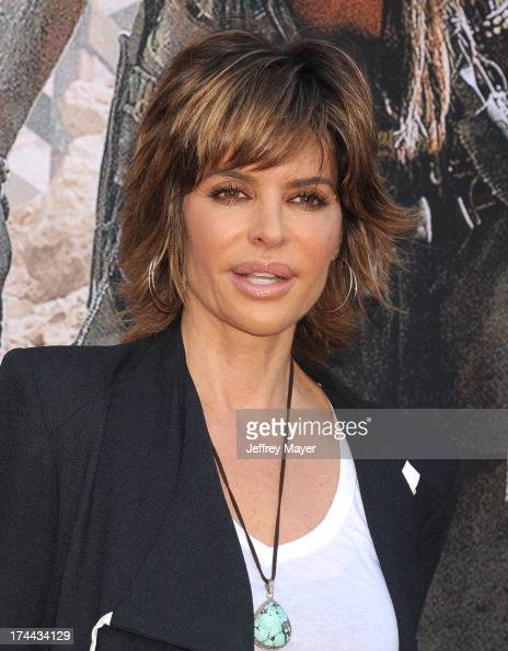 Actress Lisa Rinna arrives at 'The Lone Ranger' World Premiere at Disney's California Adventure on June 22 2013 in Anaheim California