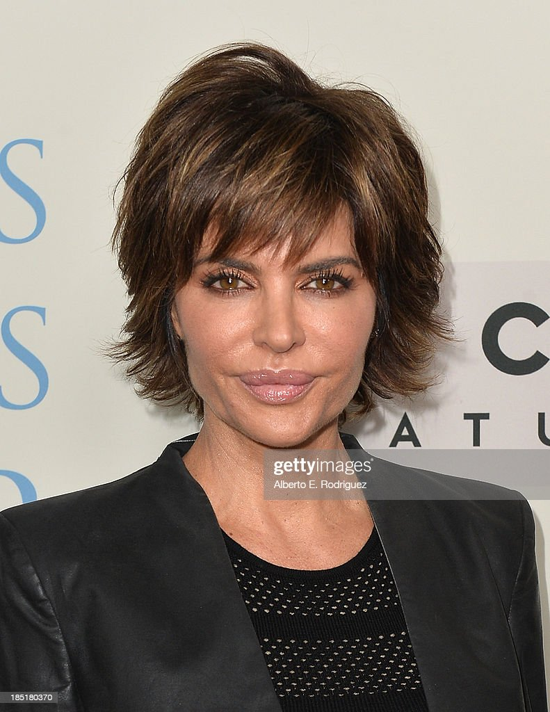 Actress <a gi-track='captionPersonalityLinkClicked' href=/galleries/search?phrase=Lisa+Rinna&family=editorial&specificpeople=202100 ng-click='$event.stopPropagation()'>Lisa Rinna</a> attends Focus Features' 'Dallas Buyers Club' premiere at the Academy of Motion Picture Arts and Sciences on October 17, 2013 in Beverly Hills, California.
