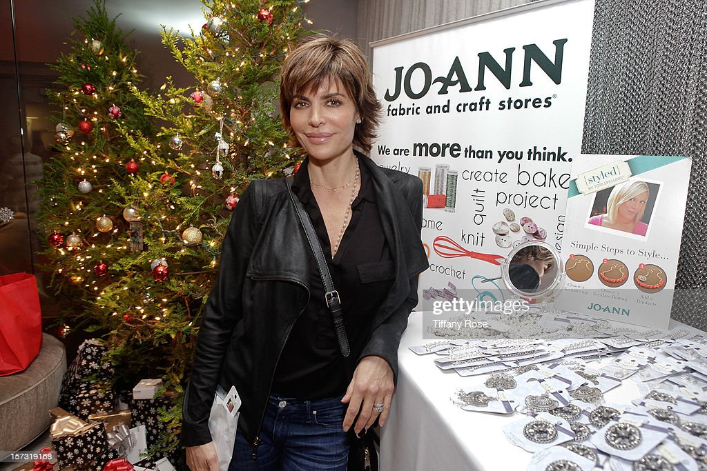 Actress Lisa Rinna attends the 2nd Annual Santa's Secret Workshop Benefiting L.A. Family Housing at Andaz on December 1, 2012 in West Hollywood, California.