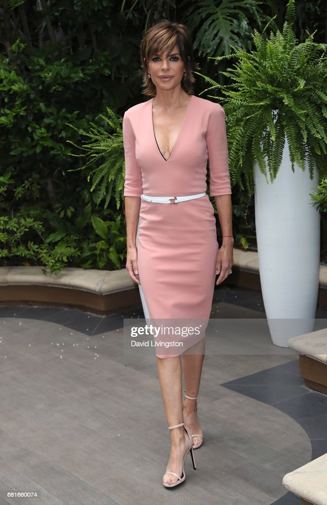 Actress Lisa Rinna attends the Associates for Breast and Prostate Cancer Studies' Annual Mother's Day Luncheon at the Four Seasons Hotel Los Angeles at Beverly Hills on May 10, 2017 in Los Angeles, California.