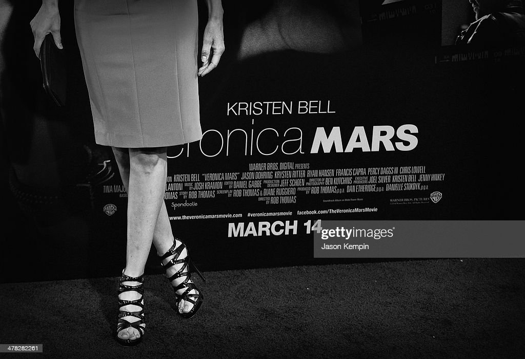 Actress Lisa Rinna attends the Los Angeles Premiere Of 'Veronica Mars'at TCL Chinese Theatre on March 12, 2014 in Hollywood, California.