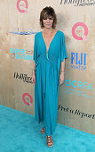 Actress Lisa Rinna attends the Ovarian Cancer Research Fund Alliance's 3rd Annual Super Saturday Los Angeles at Barker Hangar on June 11 2016 in...