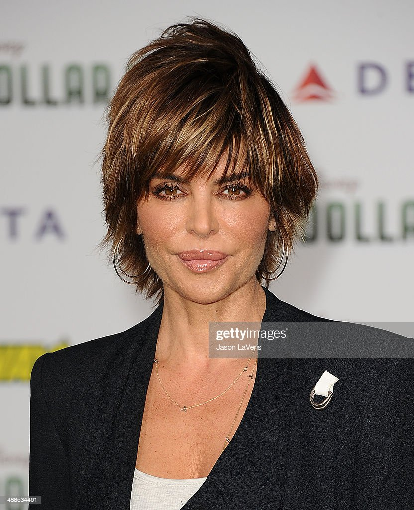 Actress <a gi-track='captionPersonalityLinkClicked' href=/galleries/search?phrase=Lisa+Rinna&family=editorial&specificpeople=202100 ng-click='$event.stopPropagation()'>Lisa Rinna</a> attends the premiere of 'Million Dollar Arm' at the El Capitan Theatre on May 6, 2014 in Hollywood, California.