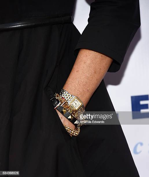 Actress Lisa Rinna jewelry detail arrives at the 7th Annual Big Fighters Big Cause Charity Boxing Night Benefiting The Sugar Ray Leonard Foundation...