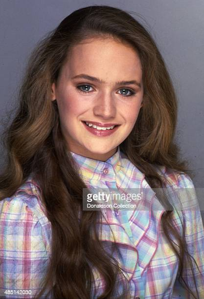 Actress Lisa Trusel from 'Days Of Our Lives' poses for a portrait session in 1982 in Los Angeles California