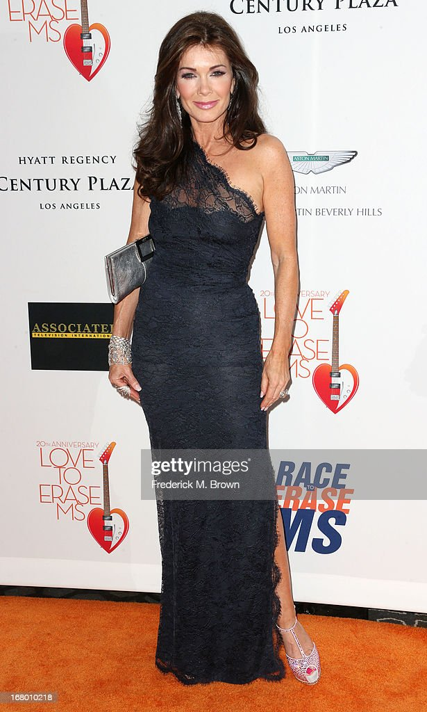 Actress Lisa Vanderpump attends the 20th Annual Race to Erase MS Gala 'Love to Erase MS' at the Hyatt Regency Century Plaza on May 3, 2013 in Century City, California.