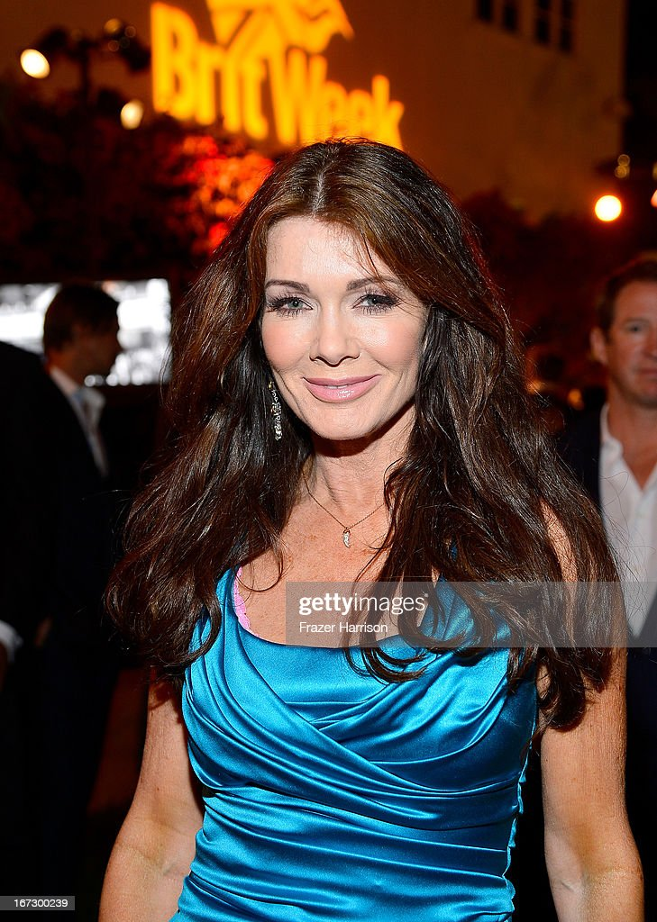 Actress Lisa Vanderpump attends the launch of the Seventh Annual BritWeek Festival 'A Salute To Old Hollywood' on April 23, 2013 in Los Angeles, California.
