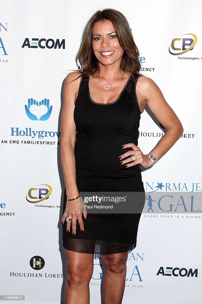 Actress <a gi-track='captionPersonalityLinkClicked' href=/galleries/search?phrase=Lisa+Vidal&family=editorial&specificpeople=665925 ng-click='$event.stopPropagation()'>Lisa Vidal</a> arriving at the 2nd Annual Norma Jean Gala 2014 at The Paley Center for Media on March 18, 2014 in Beverly Hills, California.